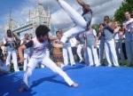Capoeira kids event with Mestre Saci (London, UK)