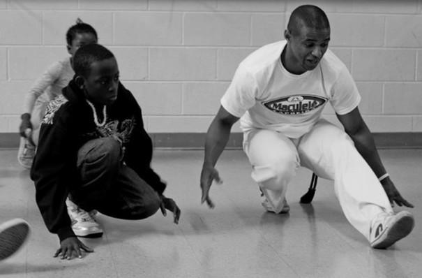 Capoeira kids with Mestre Saci (Atlanta,USA)