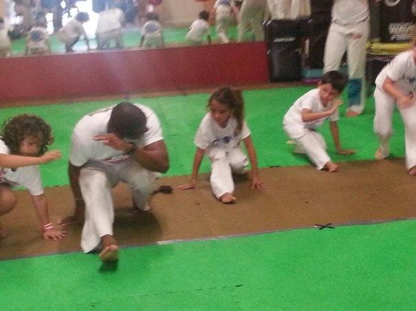 Mestre Saci Capoeira with Children (Miami, USA)