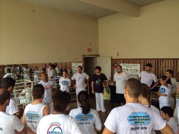 Mestre Saci Capoeira Workshop (Joinville, Brazil)