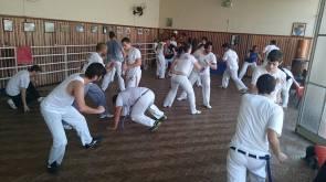Teaching a class (Joinville, Brazil)
