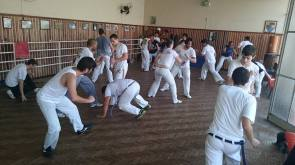 Teaching a class (Joinville, Brazil)