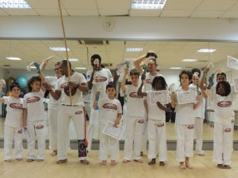 Mestre Saci Capoeira London Belt awards 23 November 2015
