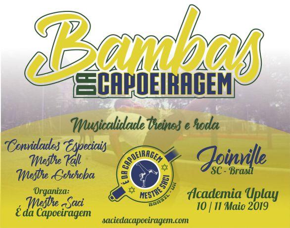 E DA CAPOEIRAGEM - treino com Bambas Da Capoeiragem!