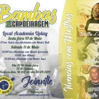 Evento: Bambas da Capoeiragem - Programação, Joinville 10-11.5.2019