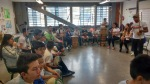 Music class with Mestre Saci (Bogota, Colombia)